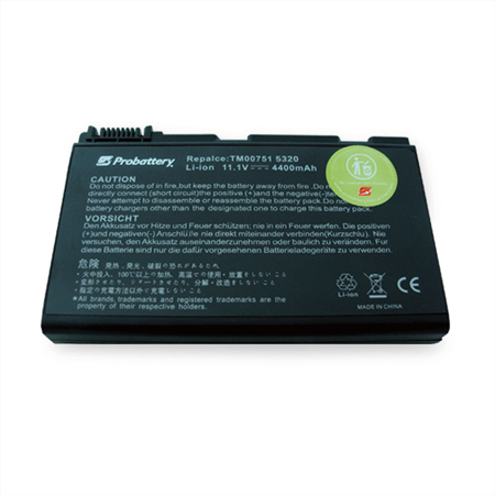 BATERÍA PARA NOTEBOOK ACER TRAVELMATE GRAPE32 / 5220 / 5310 / 5520 / 5720 SERIES